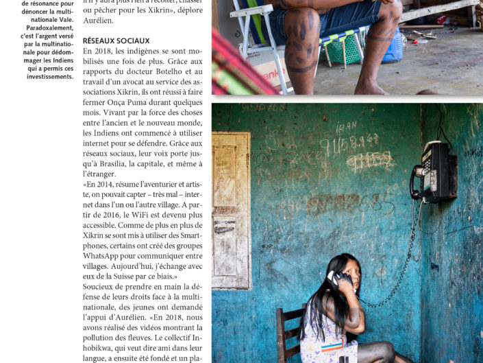 Echo Magazine, presse, photographie, anthropologie, Aurélien Fontanet