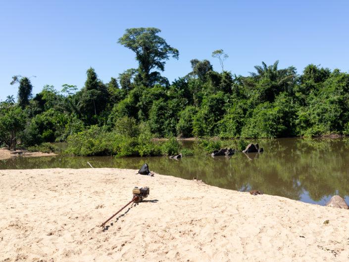 Usine minerais, mine, pollution, métaux lourds, fleuves Cateté, Amazonie