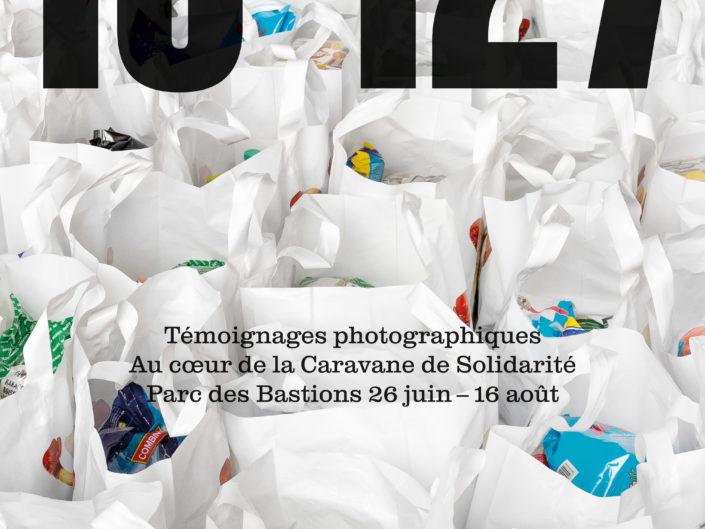 16'127, La Caravane de Solidarité, Photographie, exposition, cohésion sociale, Aurélien Fontanet