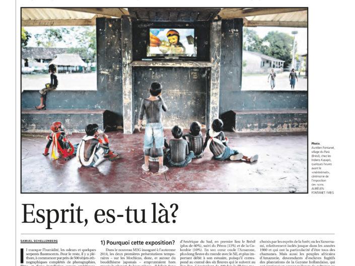 Le Courrier, article, le Mag, photographie, anthropologie, Aurélien Fontanet