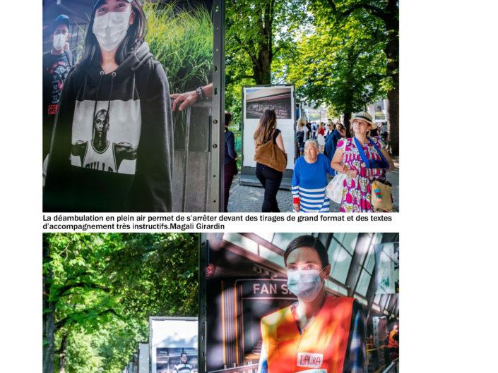Tribune de Genève, photographie, La Caravane de Solidarité, Aurélien Fontanet