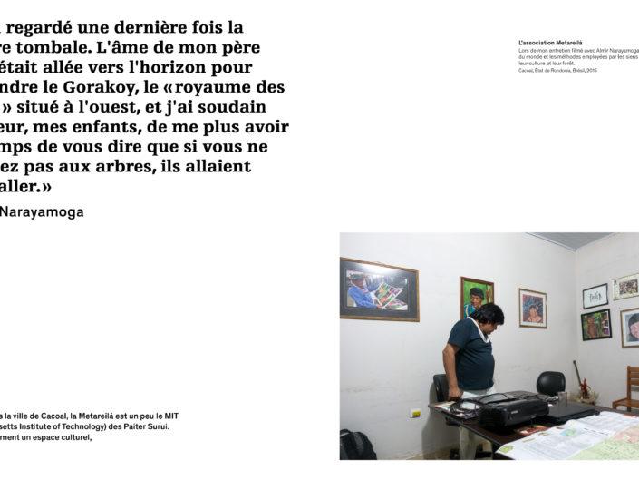 Turbulences, Thesis, Master TRANS, HEAD-Genève, Paiter Surui, Aurélien Fontanet