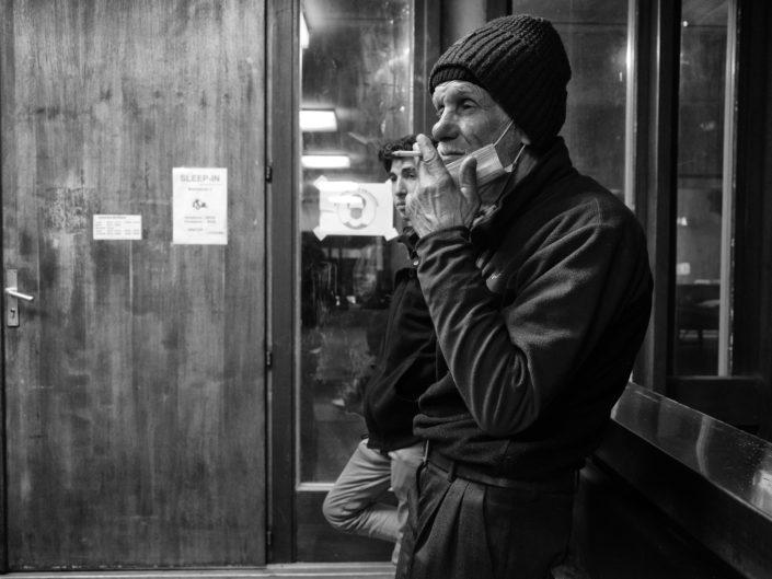La Caravane Sans Frontières, Hébergement d'urgence, sans-abri, sleep-in, solidarité