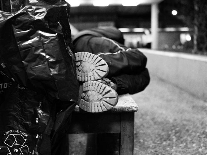 La Caravane Sans Frontières, Hébergement d'urgence, sans-abri, sleep-in, solidarité,